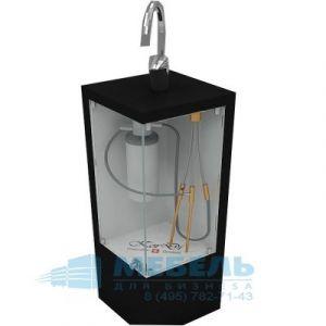 Стенд для демонстрации фильтра для проточной воды