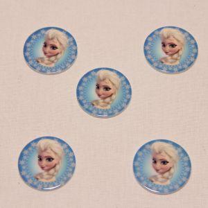 Кабошон (пластик), размер 30*30 мм (1уп=10шт), Арт. КБП0302