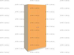 Шкаф 2-дверный Астра 45 (90х45х200)