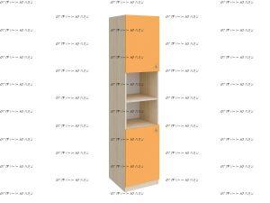 Шкаф-пенал закрытый Астра 2/3 (45х45х200)