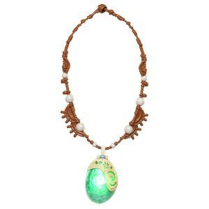 Волшебное ожерелье кулон Моаны Дисней светящийся