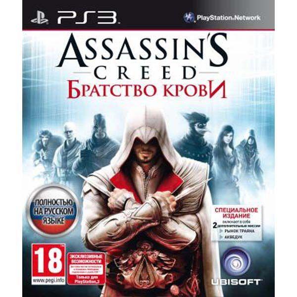 Игра Assassin's Creed Братство крови (PS3)