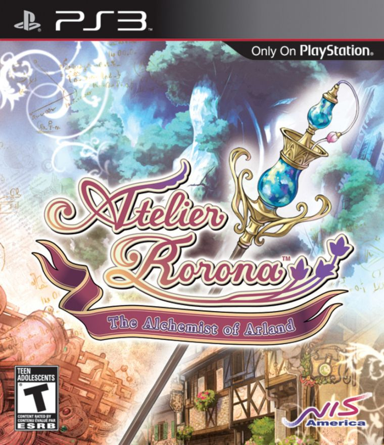 Игра Atelier Rorona The Alchemist of Arland (PS3)