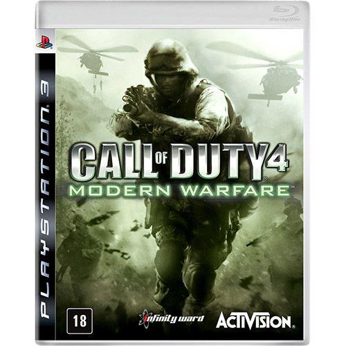 Игра Call of Duty 4 Modern Warfare (PS3)