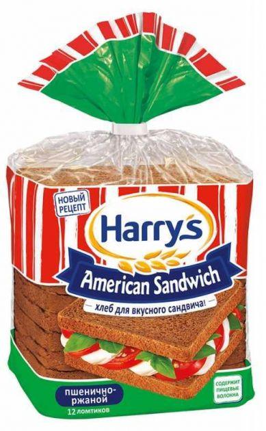 Хлеб HARRYS пшенично-ржаной нарезной 470г