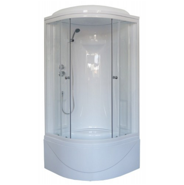 Душевая кабина Royal Bath 90x90 RB 90BK1-T