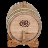 Дубовая бочка для самогона, вина, коньяка (БонПос), 5 литров