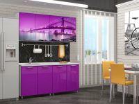 Кухня с фотопечатью Бридж 1,6 м