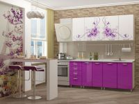 кухня с фотопечатью Вдохновение МДФ 2м