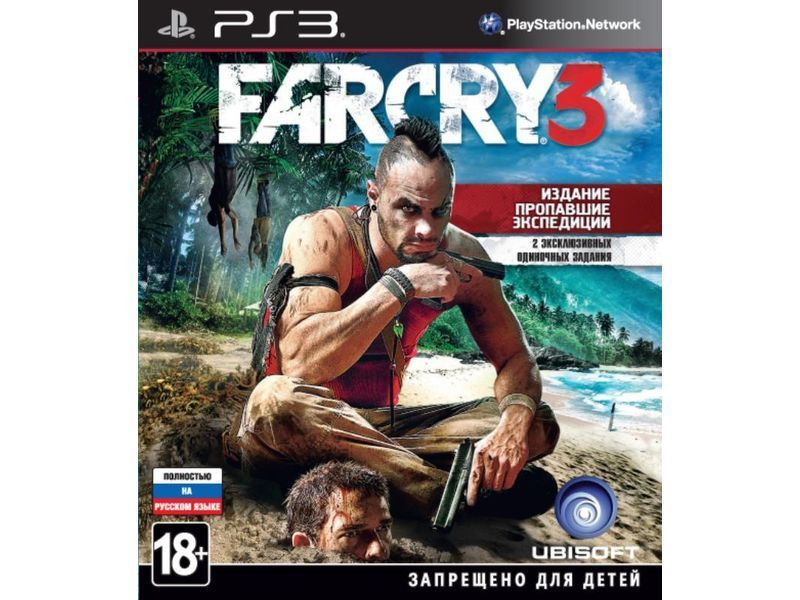 Игра Far Cry 3 (PS3)