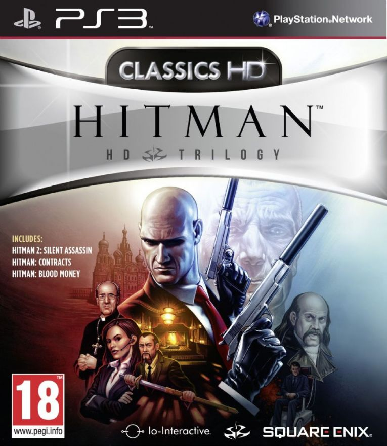 Игра Hitman HD Trilogy (PS3)