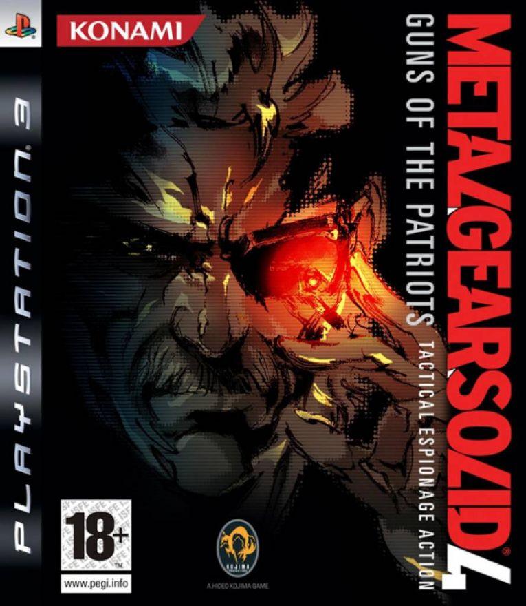 Игра Metal Gear Solid 4 Guns of the Patriots (PS3)
