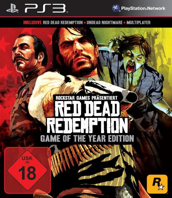 Игра Red Dead Redemption Game of the Year Edition (PS3)