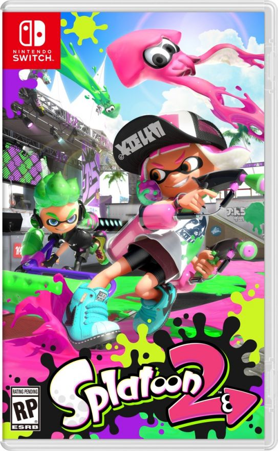 Игра Splatoon 2 (Nintendo Switch)
