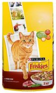 Friskies Сухой корм для кошек Мясо/овощи (2 кг)