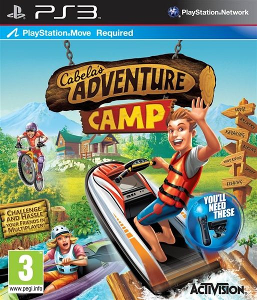 Игра Cabela's Adventure Camp (PS3,PS Move)