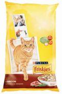 Friskies Сухой корм для кошек Мясо/овощи (10 кг)