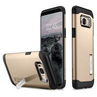Чехол Spigen Slim Armor для Samsung Galaxy S8+ золотой