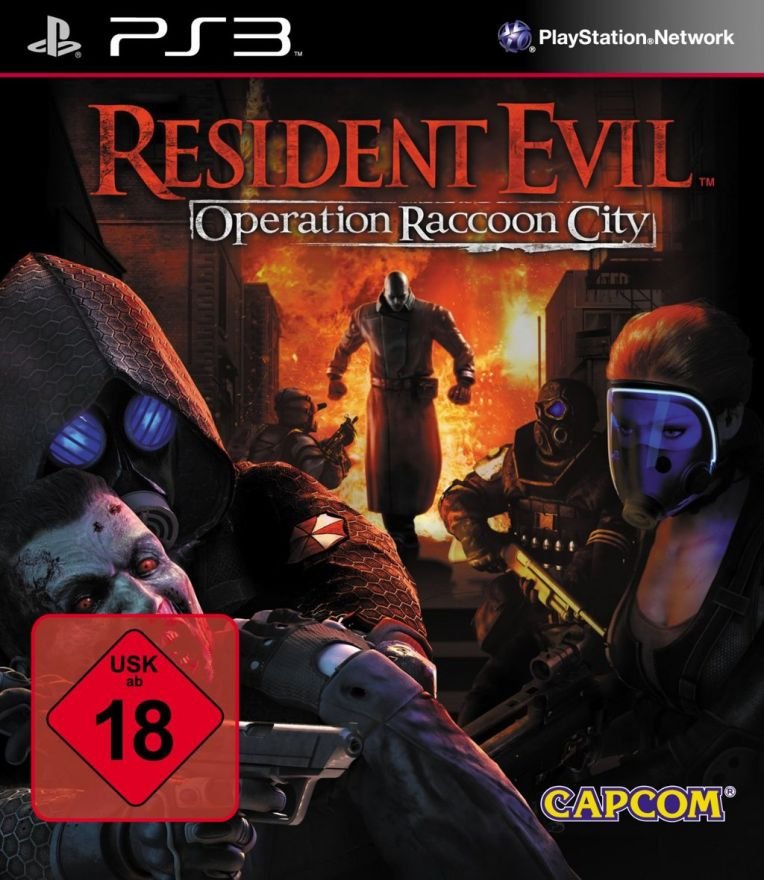 Игра Resident Evil : Operation Raccoon City (PS3)