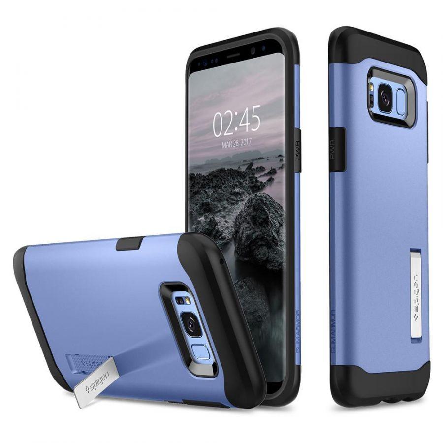 Чехол Spigen Slim Armor для Samsung Galaxy S8+ синий коралл