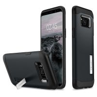 Чехол Spigen Slim Armor для Samsung Galaxy S8 Plus синий металлик