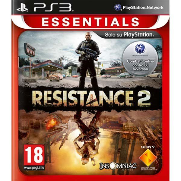 Игра Resistance 2 (PS3)