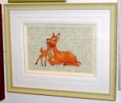 "Cross stitch pattern ""Bambi""."