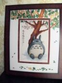 "Cross stitch pattern ""Totoro""."