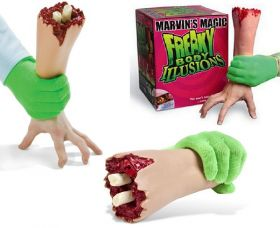 """Freaky Body Illusions """"The living hand"""" Ожившая рука (фальшрука) by Marvin's Magic"""
