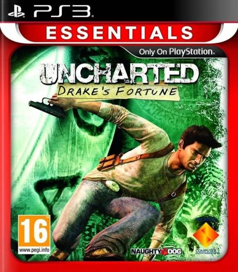 Игра Uncharted Drake's Fortune (PS3)
