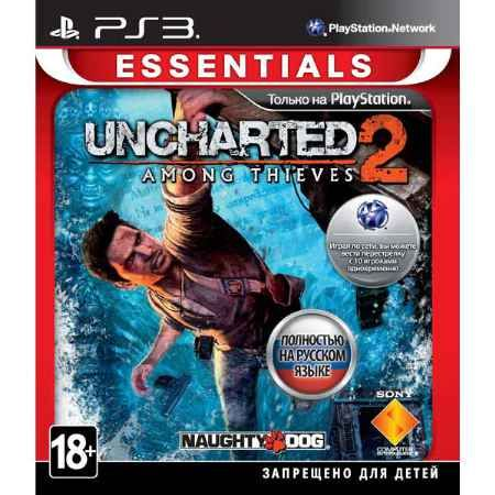Игра Uncharted 2 Among Thieves (PS3)
