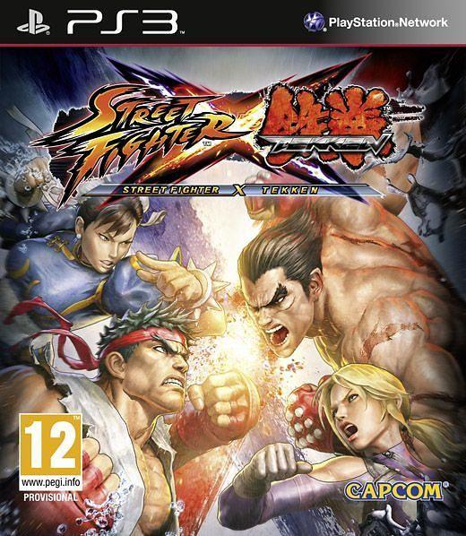 Игра Street Fighter X Tekken (PS3)