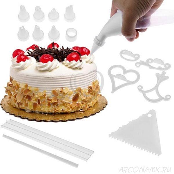 """Набор для украшения торта """"Кондитер"""" (100 piece cake decoration kit)"""