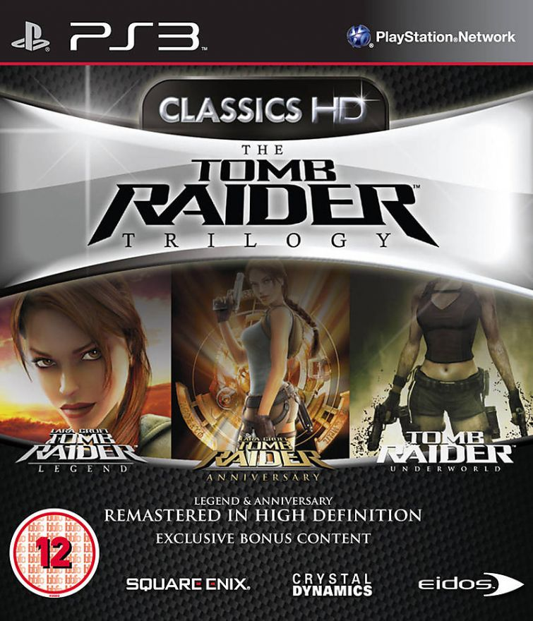 Игра The Tomb Raider Trilogy (PS3)