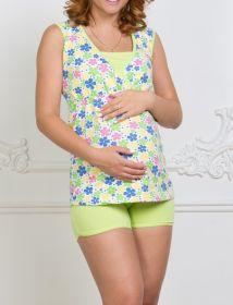 Комплект для беременных и кормления Elis салатовый арт. 7602