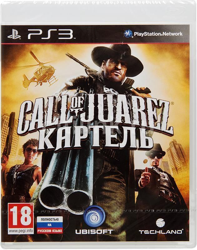 Игра Call of Juarez Картель (PS3)