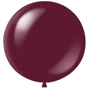 Метровый шар Бургундия Полупрозрачный латексный с гелием