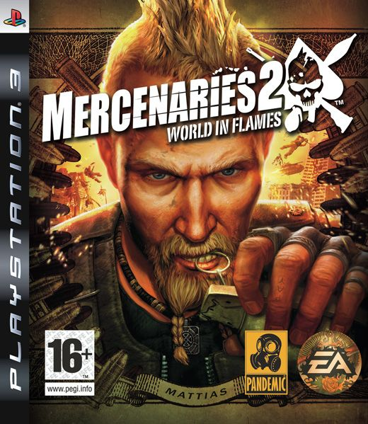 Игра Mercenaries 2 World in Flames (PS3)