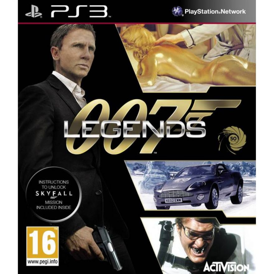 Игра 007 Legends (PS3)