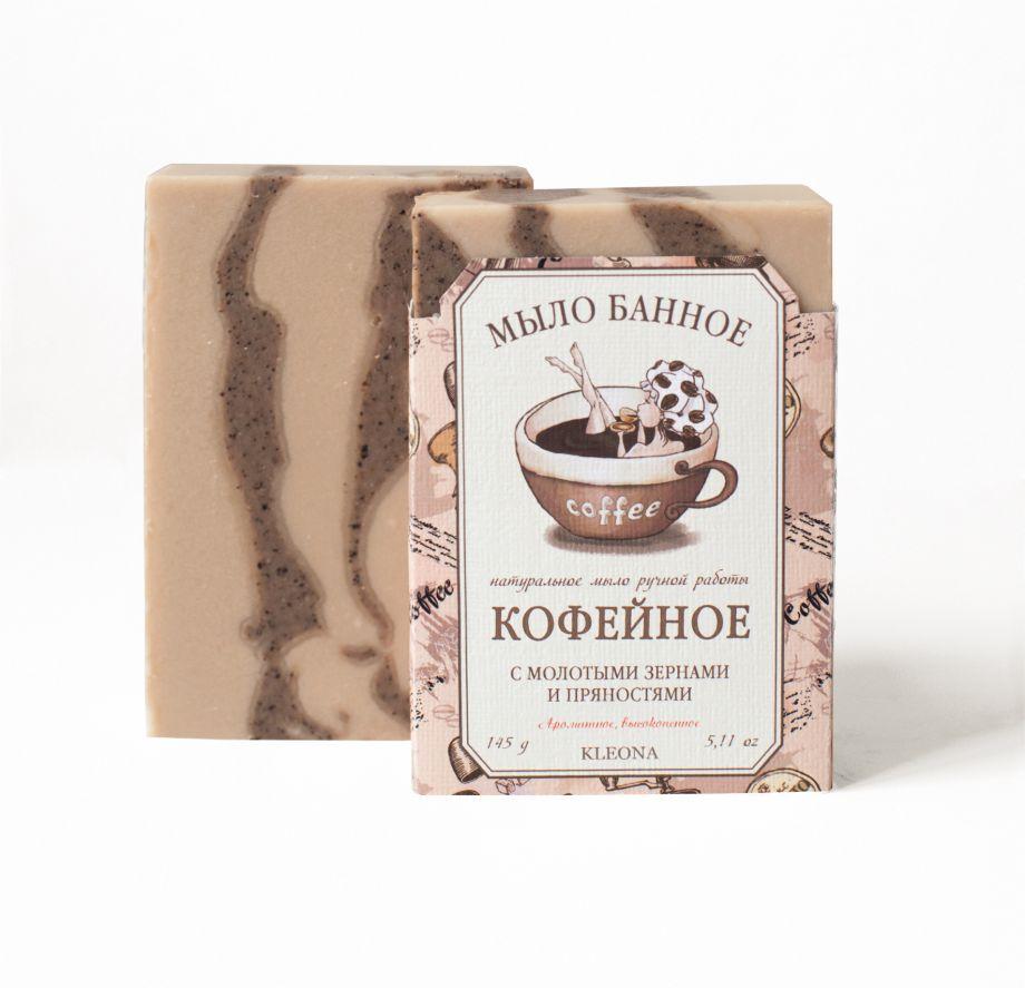 Банное кофейное мыло