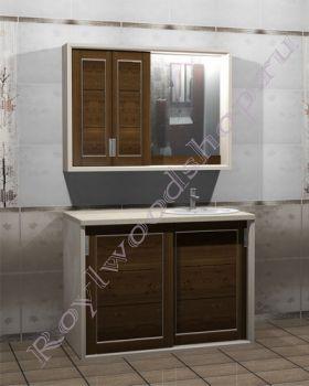 """Мебель для ванной """"Лестер КОМБИ-купе"""""""