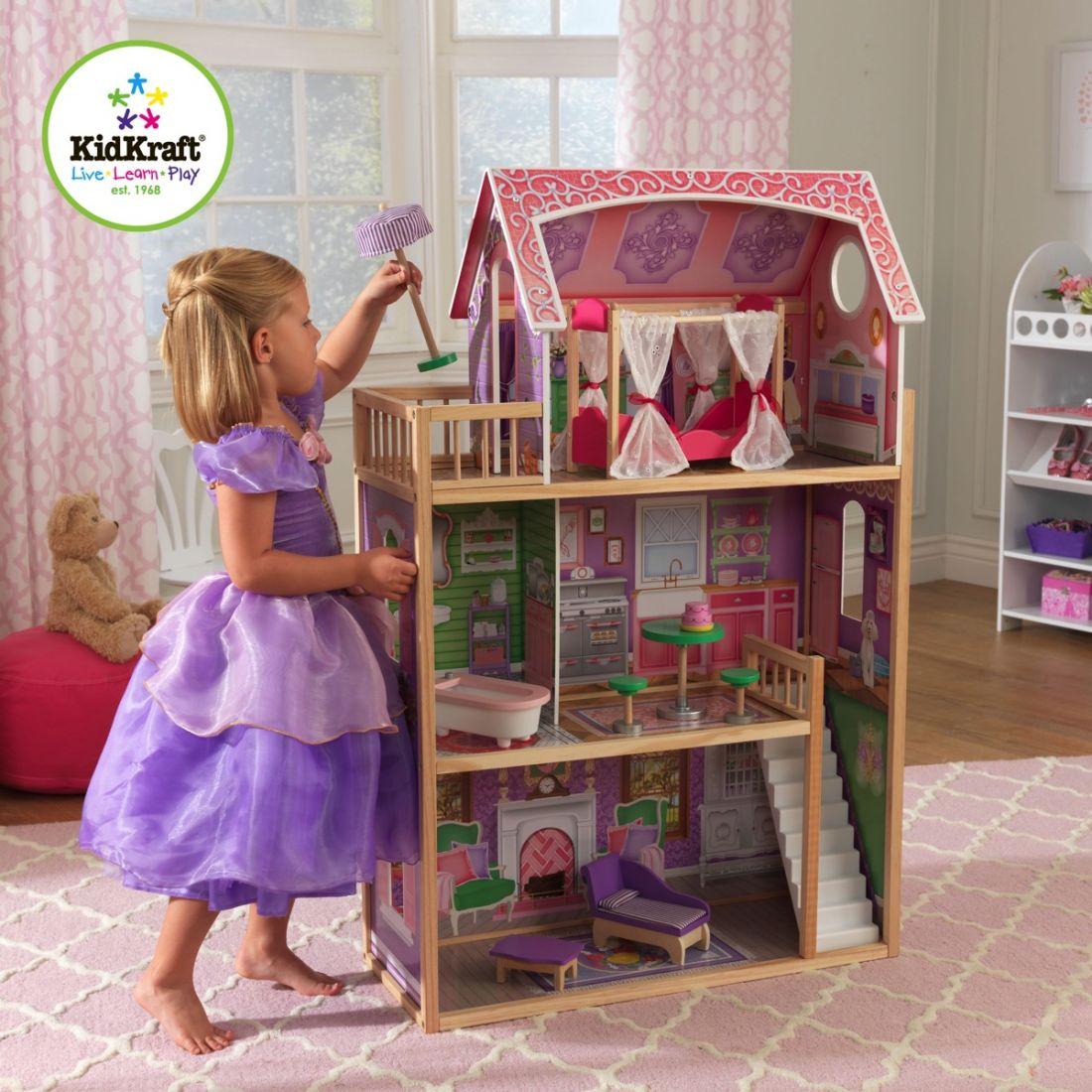 Домик для кукол с мебелью Ava KidKraft 65900