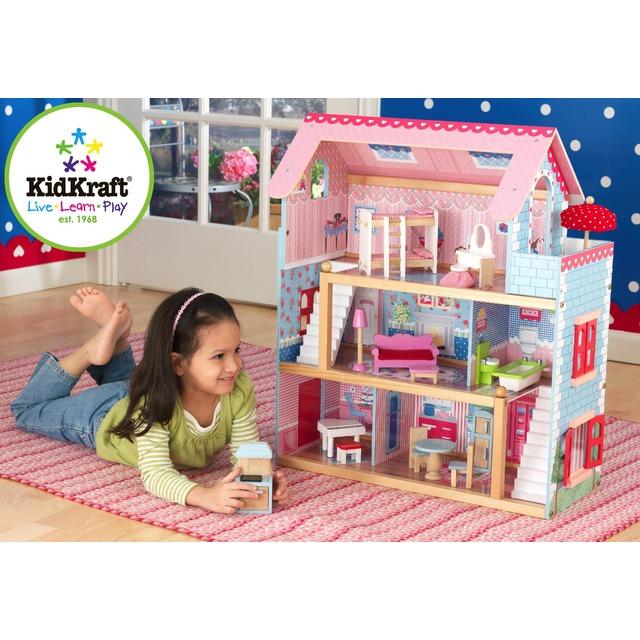 Домик для кукол с мебелью Челси KidKraft 65054