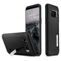 Чехол Spigen Slim Armor для Samsung Galaxy S8 Plus черный