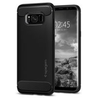 Чехол Spigen Rugged Armor для Samsung S8+ черный