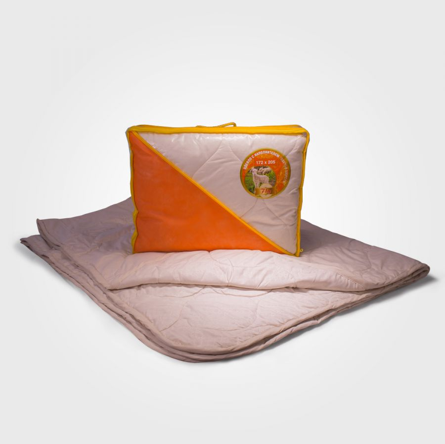 Одеяло овечья шерсть в микрофибре, облегченное