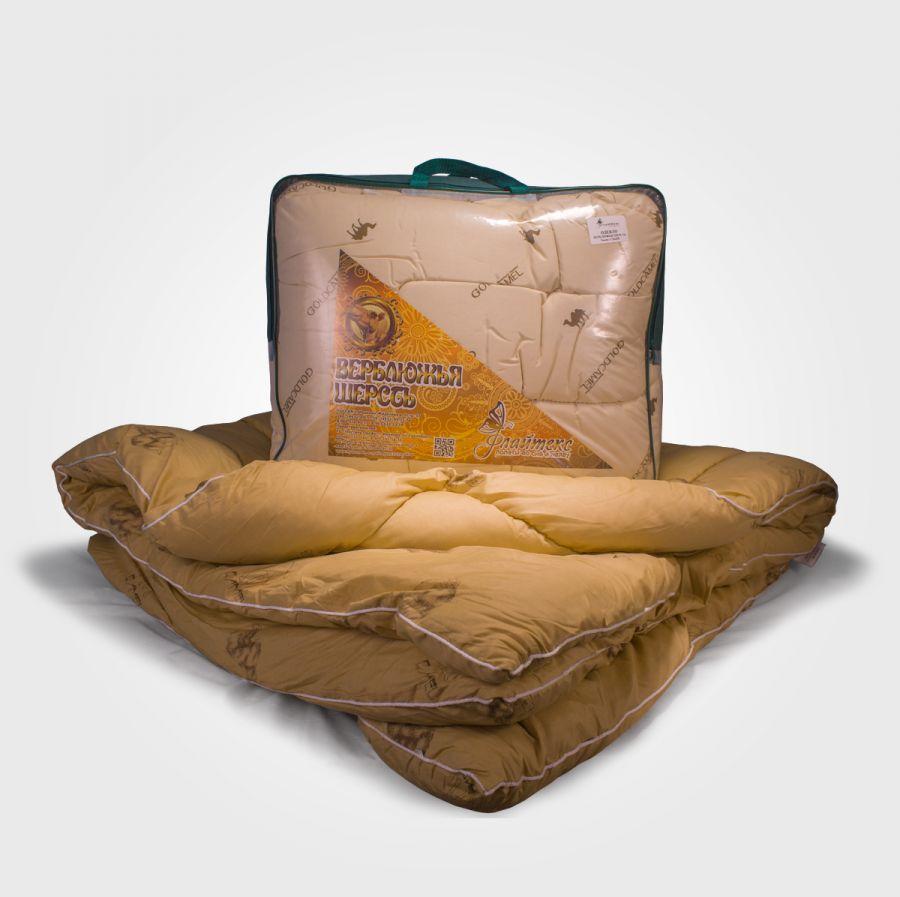 Одеяло из верблюжьей шерсти в полиэстере, зима