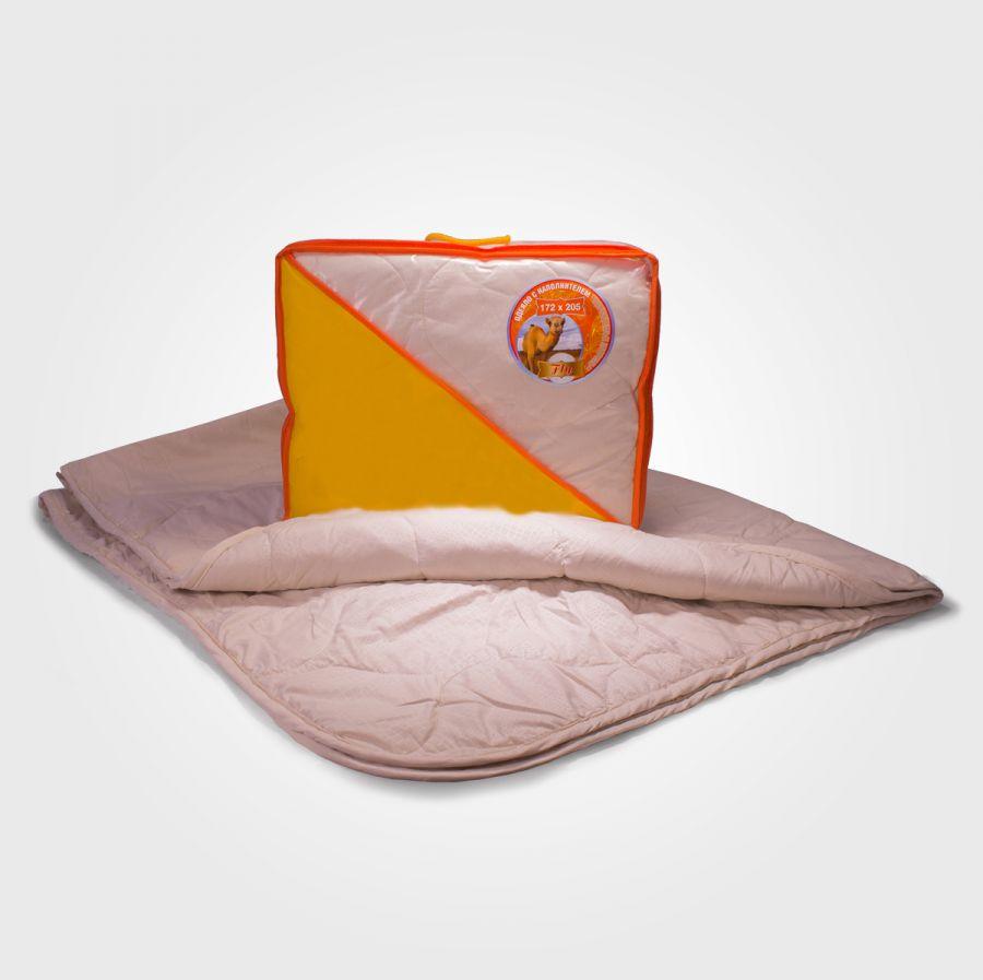 Одеяло верблюжья шерсть в микрофибре, облегченное