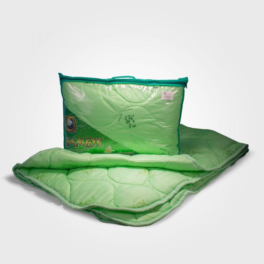 Одеяло бамбуковое в полиэстере, облегченное