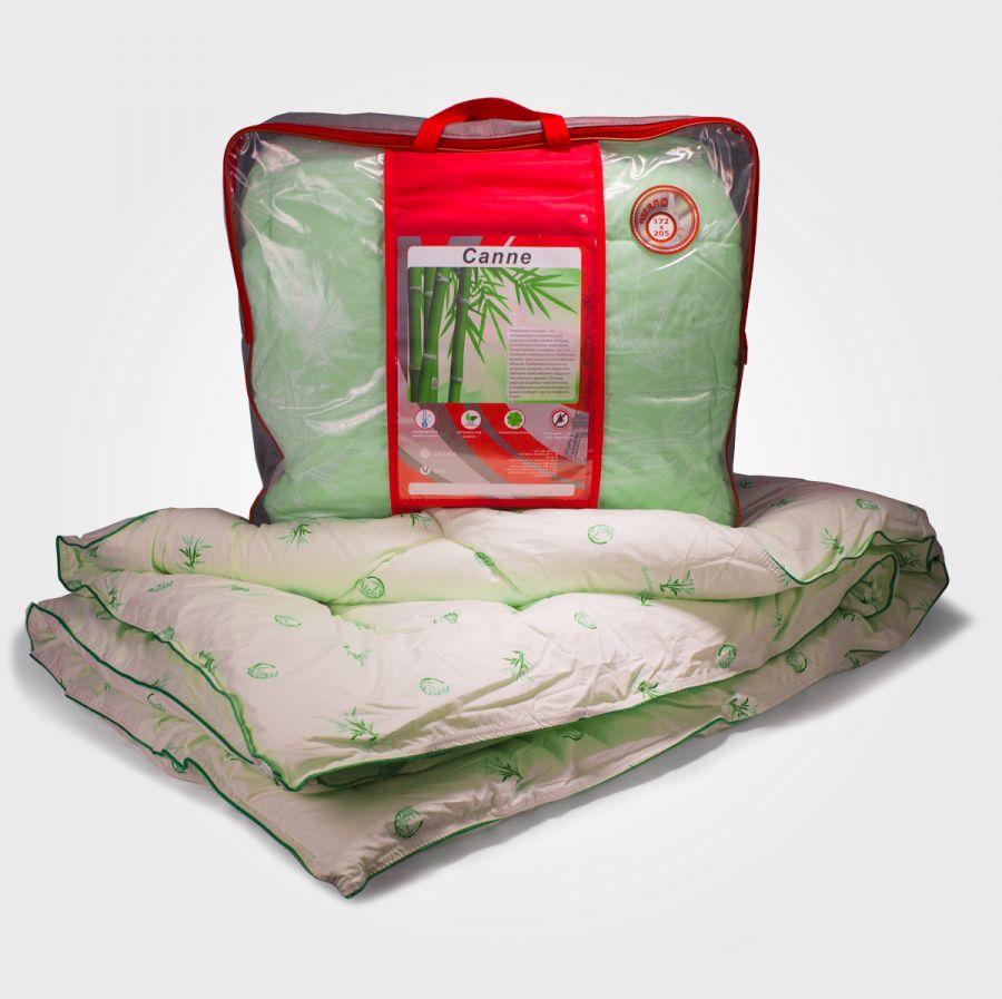 Одеяло бамбуковое в тике, зима